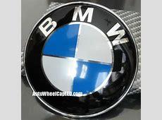 BMW e21 Blue White Hood Trunk 82mm Emblem Roundel 323i