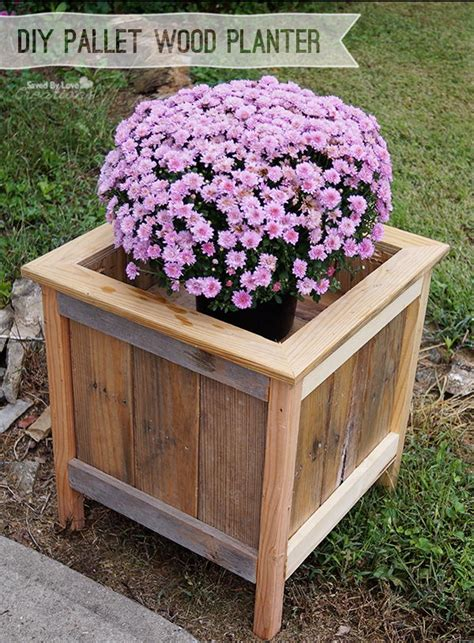 creative diy wood  pallet planter boxes  style   home hative