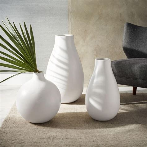 vases uk oversized white ceramic vases west elm uk