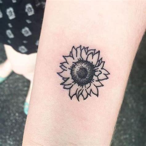 sunflower tattoo tattoo ideas sunflower tattoos sunflower tattoo simple tattoos