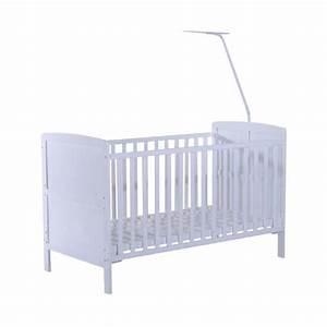 Lit Demi Hauteur : lit pour b b 18 mois 4 ans hauteur r glable cl ture ~ Premium-room.com Idées de Décoration