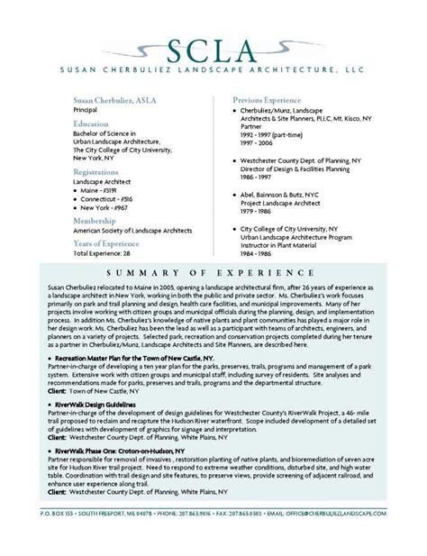 resume objective exles landscaping resume ixiplay