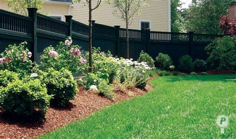 fence landscaping pinterest discover and save creative ideas