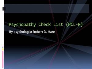 Criminal responsibility and psychopathy