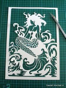 Mermaid Paper Template