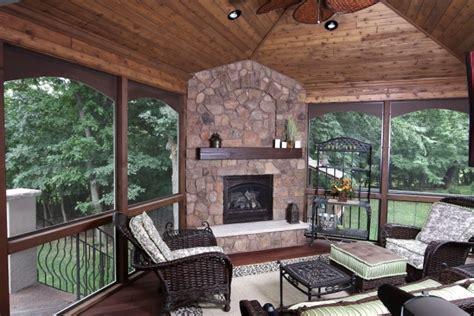 season porch builders perfect lake home