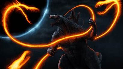 Godzilla Ghidorah Anime 4k Wallpapers Deviantart King