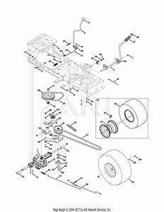Troy Bilt 13av77kf066 Tuffy  2011  Parts Diagram For Drive