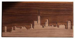 chicago skyline wall art artwork by dave marcoullier With kitchen cabinets lowes with chicago skyline canvas wall art