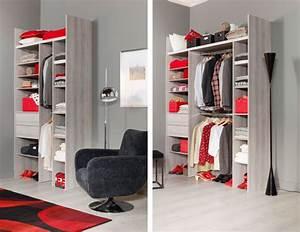 Faire Dressing Dans Une Chambre : dressing sur mesure petite chambre ~ Premium-room.com Idées de Décoration