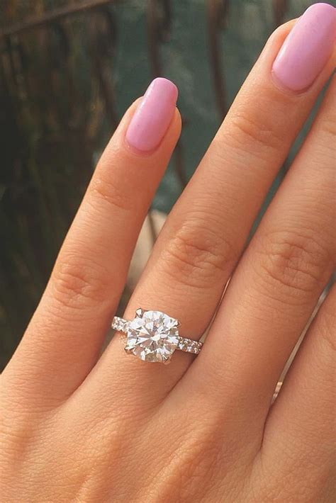 gold princess cut engagement rings 30 simple engagement rings for who oh