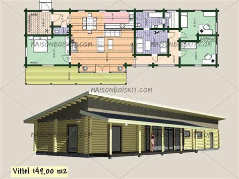 plans de maison en bois maisonboiskit votre maison bois de qualit 233 r 233 alis 233 e sur mesure contactez nous
