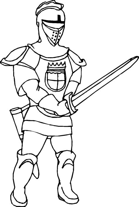 coloring pages  kids  knight coloring page fresh