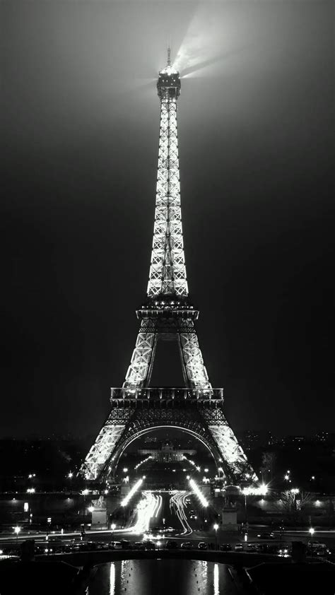 eiffel tower night view    wallpapers