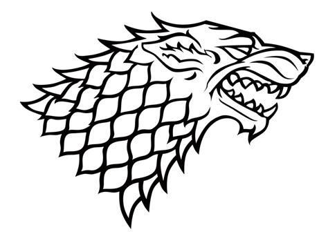 house stark sigil by dutchlion of thrones