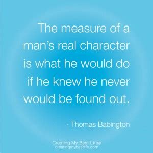 Famous Quotes Integrity Character