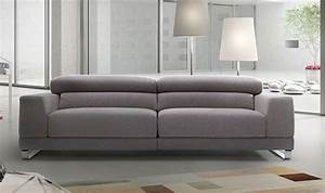 canape design 2 places tissu personnalisable relax With canapés italiens design