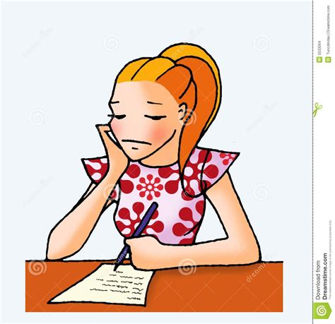 12703 writing letter clipart letter 04 stock images image 5533064