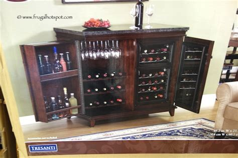 tresanti wine cabinet with 24 bottle cooler costco tresanti zinfandel thermoelectric wine cooler