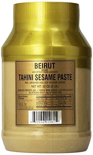 Beirut Tahini Sesame Paste 32oz   Buy Online in UAE