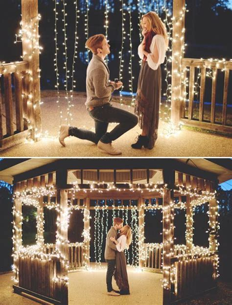 romantic unique wedding proposal ideas