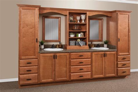 kountry cabinets nappanee in showroom harmony vintage maple kountry cabinets
