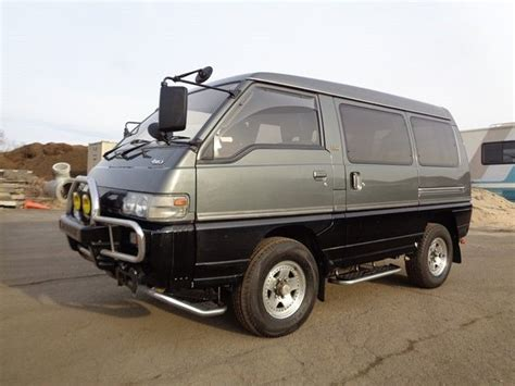 Minivans With Awd by 1991 Mitsubishi Delica Minivan Awd 4x4 Syncro 2 5l Turbo