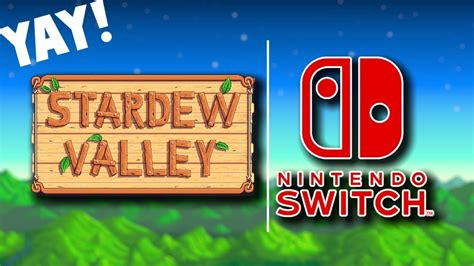 Stardew Valley Submitted To Nintendo Today!