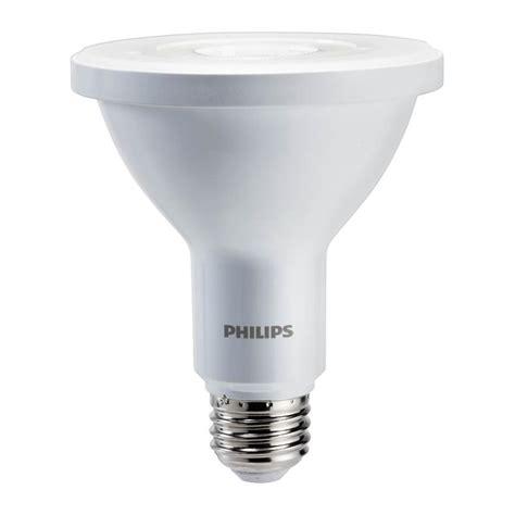 led light daylight philips 75w equivalent daylight par30l indoor outdoor led