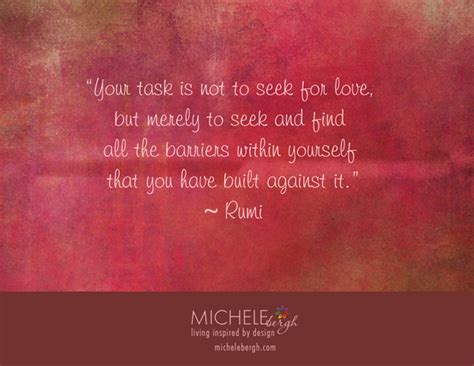 Rumi Quotes Love Barriers