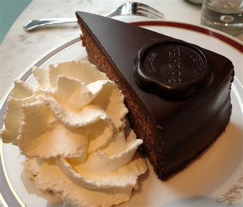 sacher torte the world at table a dinner in vienna