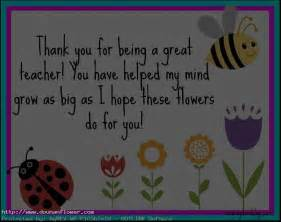 Teacher Thank You Card Messages