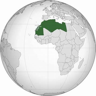 Maghreb Union Afrique Nord Carte Monde Wikipedia