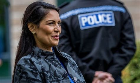 Priti Patel news: Home Secretary supports Royal Navy ...