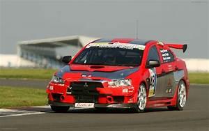 Mitsubishi EVO X Race Car Debut Widescreen Exotic Car