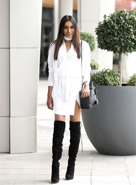The Thigh High Boots Outfit 35 Ways To Wear Thigh-High Boots - Just The Design