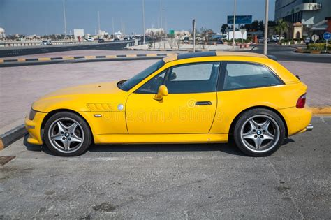 Yellow Bmw Z3 M Coupe Car Editorial Stock Photo Image Of
