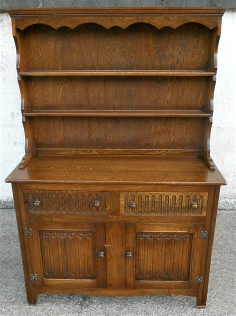SOLD   Antique Jacobean Style Oak Reproduction Welsh Dresser