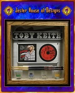 Toby Keith Custom Shadow box Drumstick wall Display ...