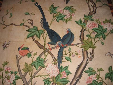 antique  rare chinese wallpapers panels  sale