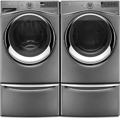 washer and dryer pedestal whirlpool wfw97hedc front load washer wgd97hedc gas