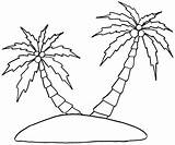 Palm Coloring Tree Pages Colouring Printable Trees Coconut Leaf Drawing Beach Date Island Leaves Luxury Coloringpagesfortoddlers 1100 Sheets Swaying Summer sketch template