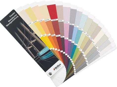 Neuer Farbtonfächer Für Metallische Wandgestaltungen