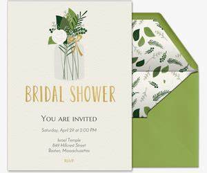 free online bridal shower invitations evitecom With free online wedding shower invitations