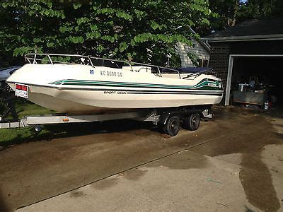 1985 Chris Craft Deck Boat by Viking Deck Boat Boats For Sale