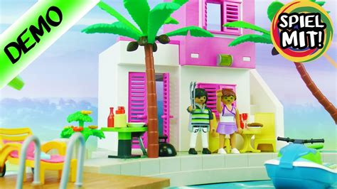 Playmobil Luxus Ferienhaus! Luxusvilla Am Meer! Urlaub Für