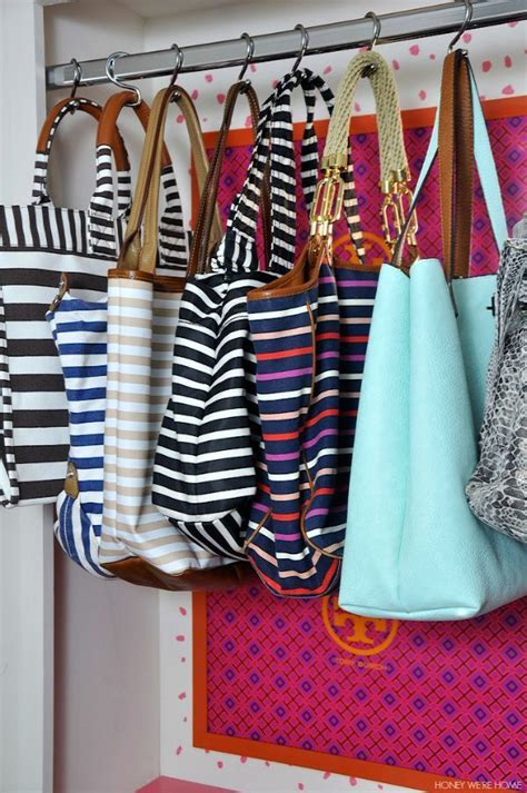 Hanging Purses In Closet by 25 Best Ideas About Hanging Purses On