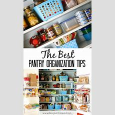 Top 5 Pantry Organization Tips + Pantry Makeover