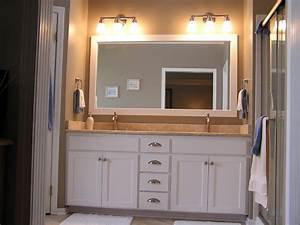 bathroom cabinet refacing traditional bathroom With bathroom cabinet resurfacing