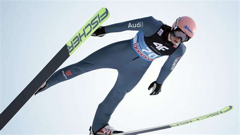 Skispringen oberstdorf (ger) 06 märz 2021. Skispringen Weltcup im Tcker: Kubacki siegt, Geiger ...